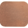 Metal Blank 24ga Copper Rectangle 19x25mm No Hole